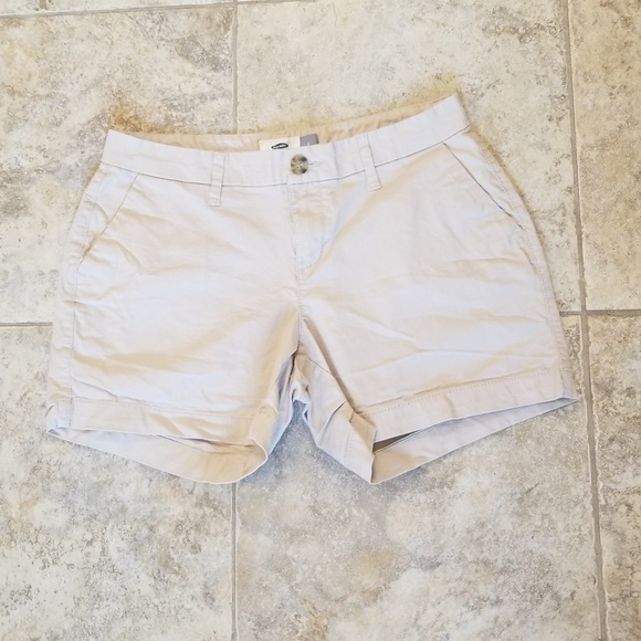 Old Navy Pants - Old Navy Like New Tan Khaki Short Shorts